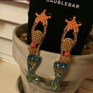 BaubleBar Mermaid Jewel Earrings